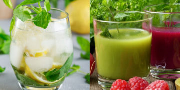 Recetas de bebidas alcalinas caseras y naturales