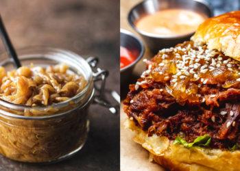 Cómo hacer la receta de cebolla caramelizada para hamburguesas y todo tipo de comidas