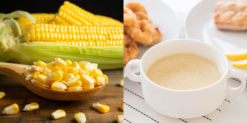 Receta de crema de maíz (sopa)