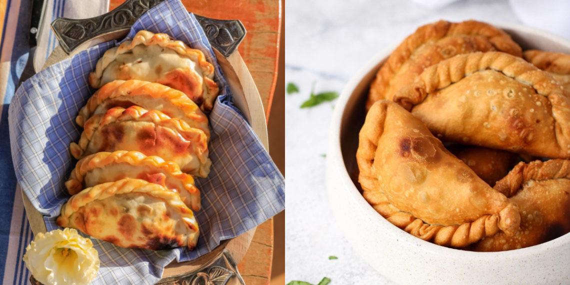 Cómo hacer empanadas de pollo al horno jugosas con excelente relleno