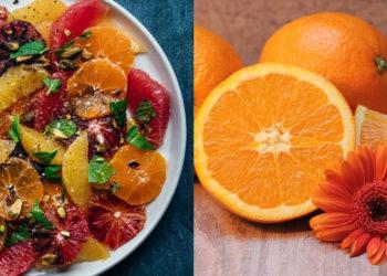 Receta de ensalada de naranja dulce con diferentes frutas
