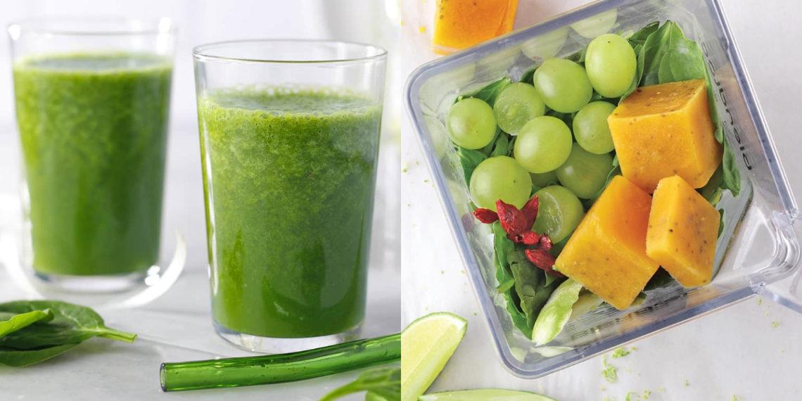 Receta y beneficios del jugo de manzana verde natural