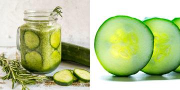 Receta y beneficios del jugo de pepino con limón