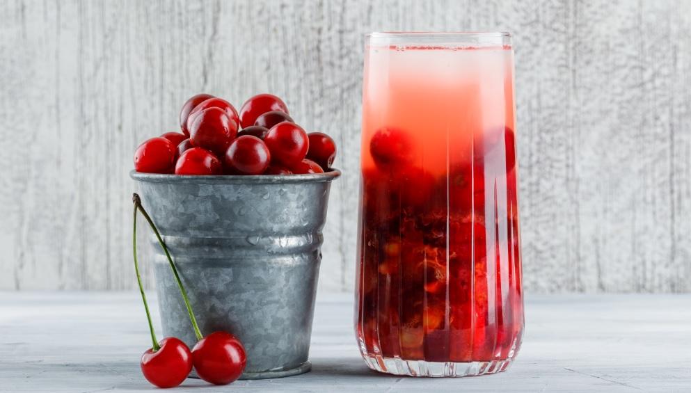 Receta para hacer limonada de cereza (cerezada) en casa