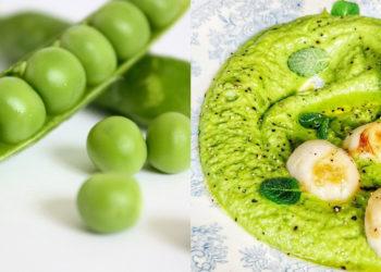 Receta y calorías del puré de arvejas
