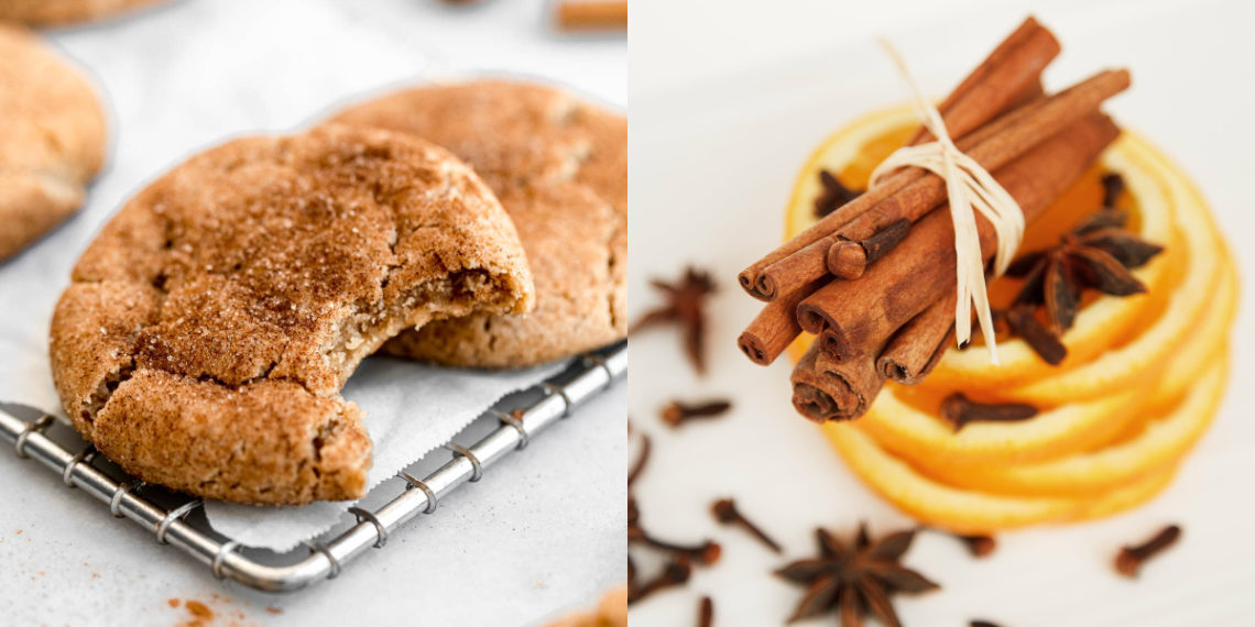 Receta para hacer galletas caseras y sencillas de vainilla con canela