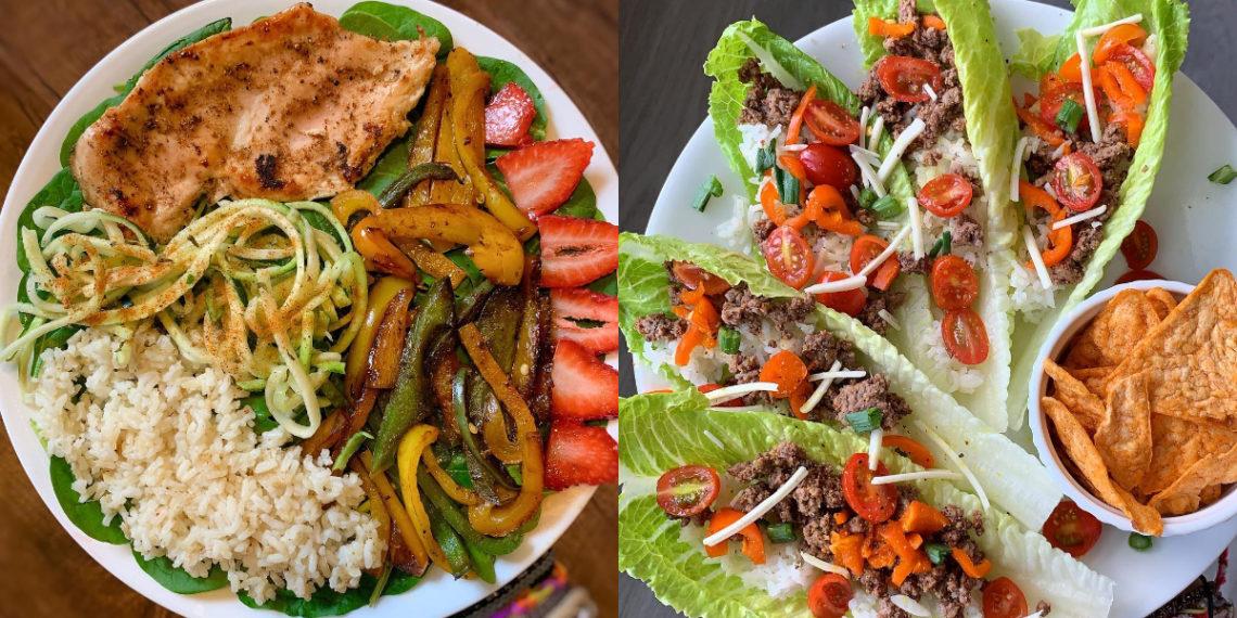 Recetas de almuerzos saludables y económicos para adelgazar rápido