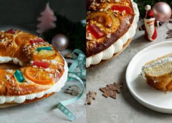 Receta de rosca de Reyes con muñecos