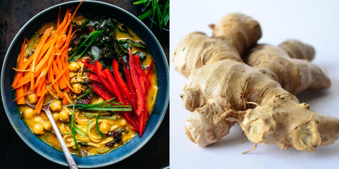 Receta y calorías de la sopa de garbanzos con fideos