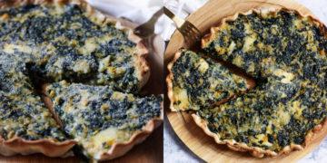 Masa casera de la tarta de queso al horno fácil y rápida