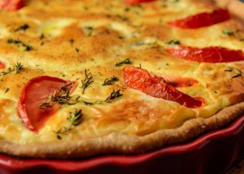 Receta para hacer la masa de tarta de verduras