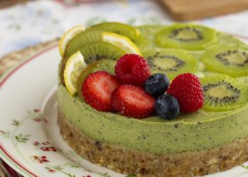 Tarta dulce de kiwi: un pastel saludable, rico y distinto