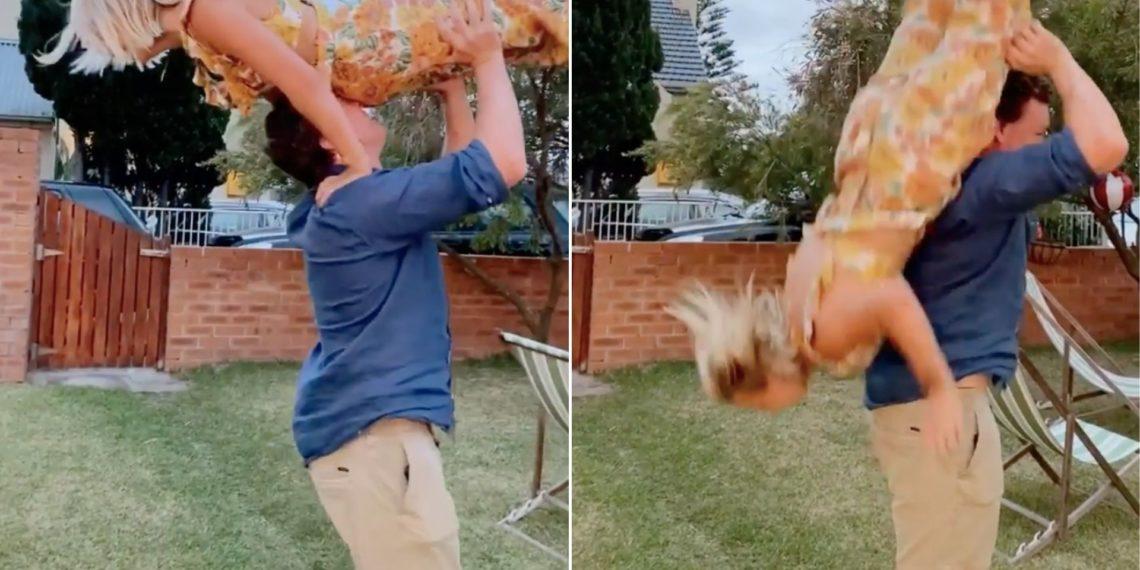 Mujer Intentó hacer el Dirty Dancing y por poco muere