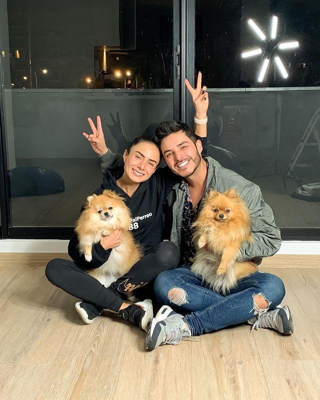 Juanse Quintero y Johanna Fadul