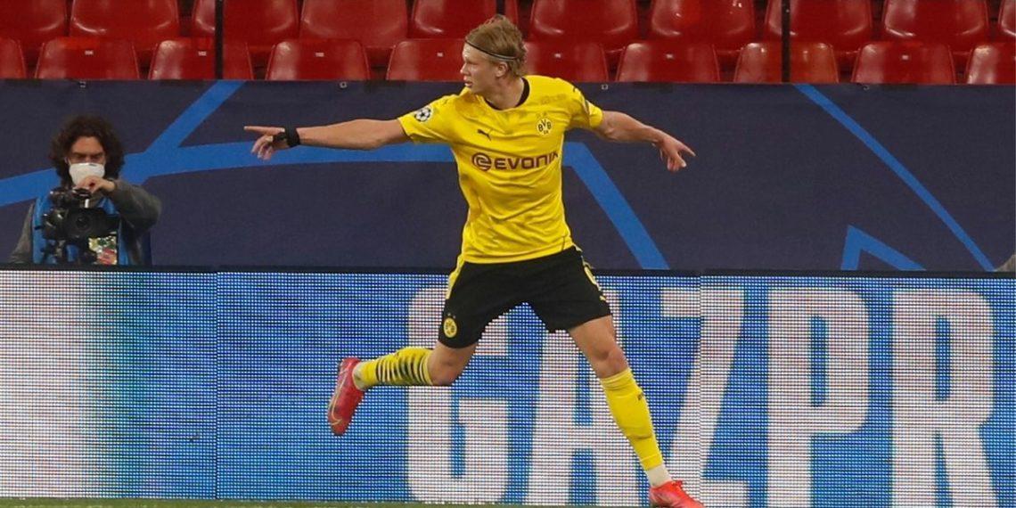 El increíble y precoz Erling Haaland y sus 18 goles en Champions