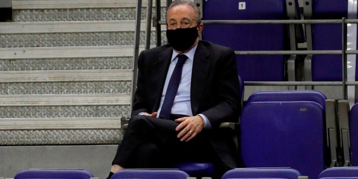 Florentino Pérez, presidente del Real Madrid, da positivo por COVID-19