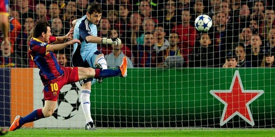 Iker Casillas trolea en redes a Messi por un regalo y Piqué le responde