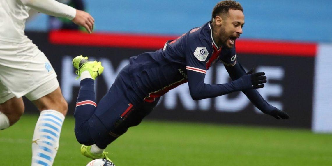 Neymar está lesionado y no jugará contra Barcelona en Champions