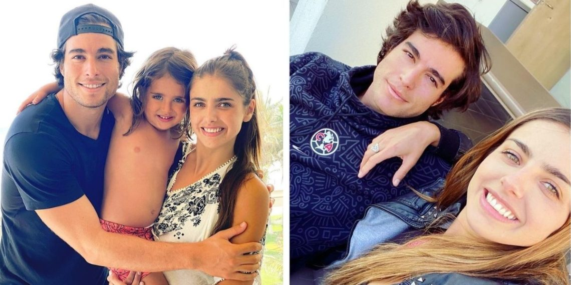 Danilo Carrera y Michelle Renaud. Foto: Instagram/ michellerenaud