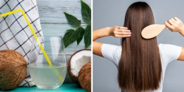 Beneficios que el agua de coco le ofrece a tu cabello