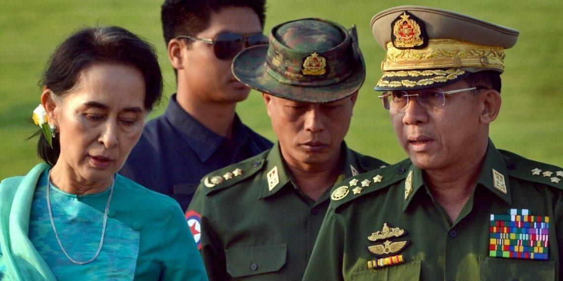 Militares dan un golpe de estado en Myanmar.