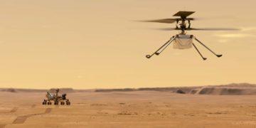 helicóptero Ingenuity de la NASA en Marte