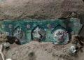 Descubren carroza en Pompeya