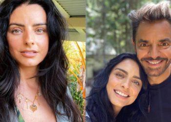 La reacción de Eugenio Derbez a fotos de su hija Aislinn en ropa interior
