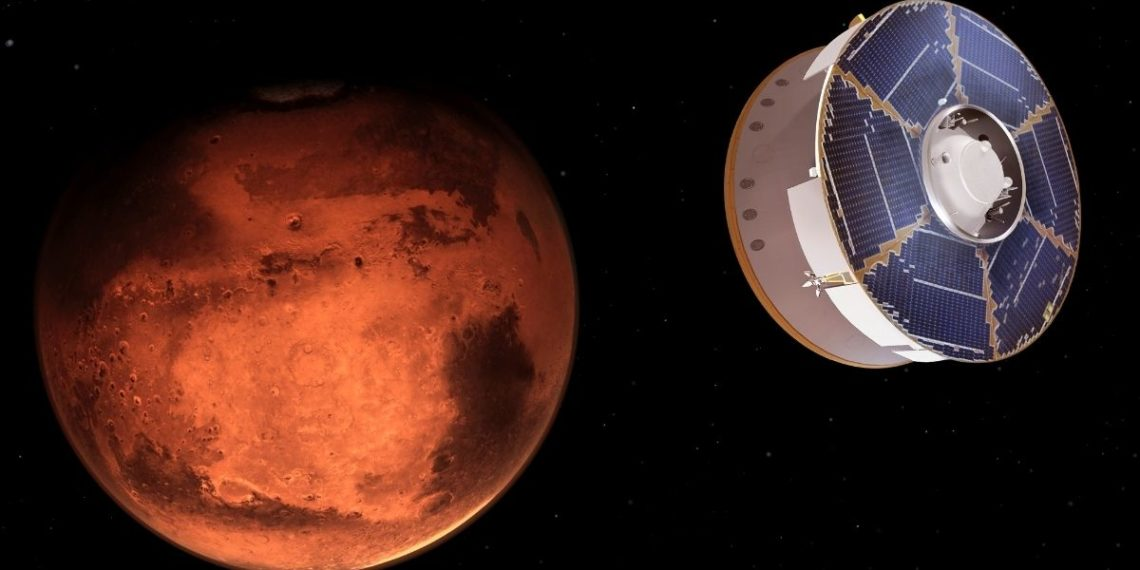 Sondas espaciales de China y Emiratos Árabes ingresan a órbita de Marte