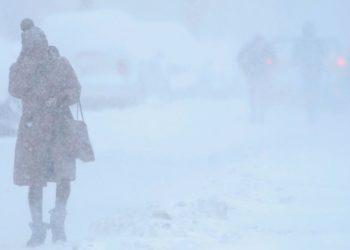 frío en el planeta durante el mes de febrero