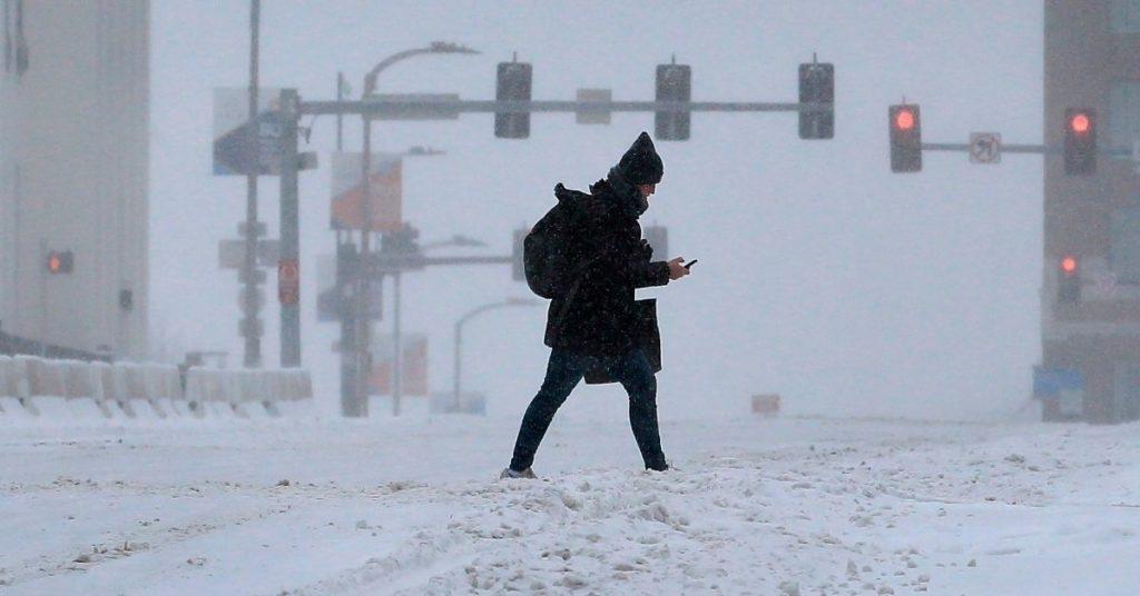 Estados Unidos vienen registrando cifras récord de temperaturas bajo cero