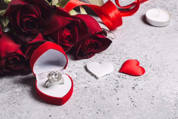propuesta de matrimonio a su novia