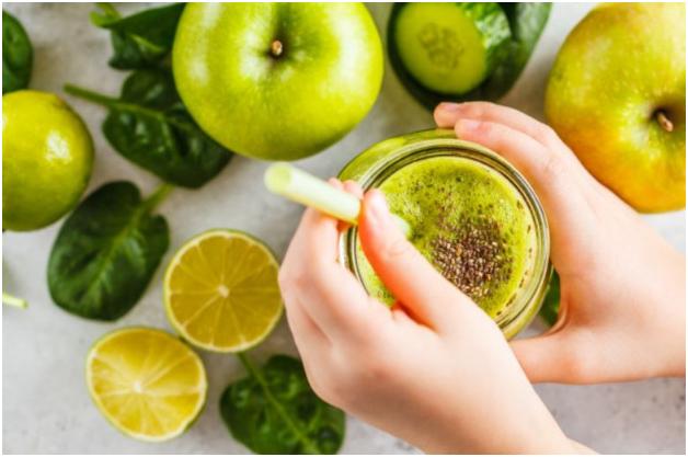 kiwi y limón