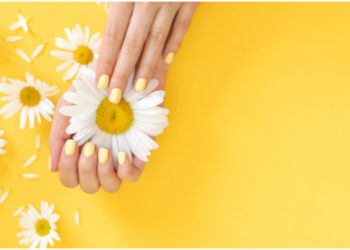 uñas para primavera