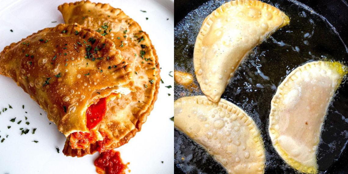 Ingredientes para hacer empanadas de pizza argentinas