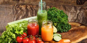 Recetas de jugos de verduras