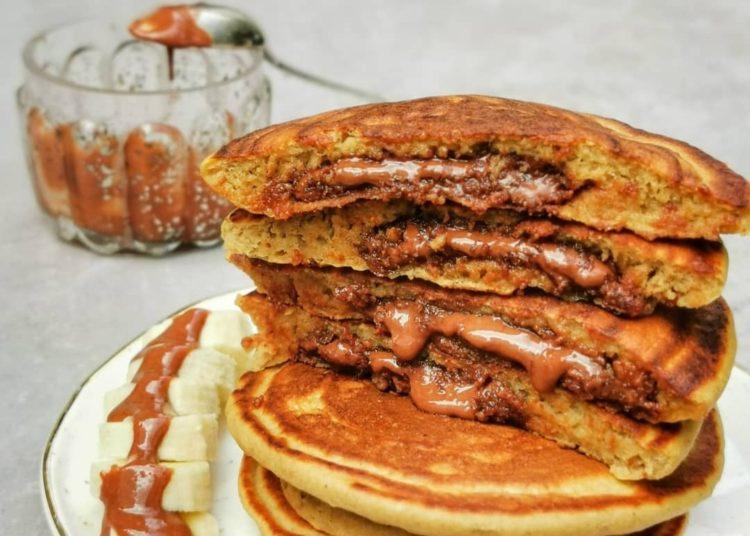 Pancakes rellenos