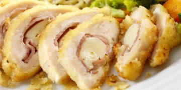 Cómo hacer pechugas de pollo rellenas, gratinadas, jugosas y al horno