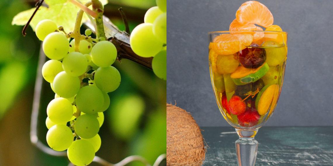 Recetas con uvas verdes