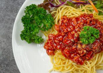 Salsa boloñesa de pavo para pasta: es sencilla y fácil