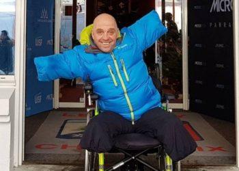 Philippe Croizon quiere cumplir su sueño de viajar al espacio
