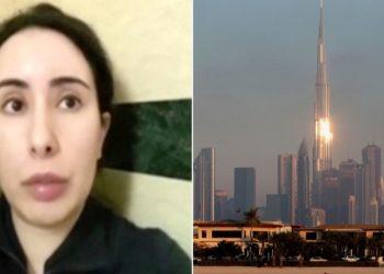 la princesa Latifa de Dubái