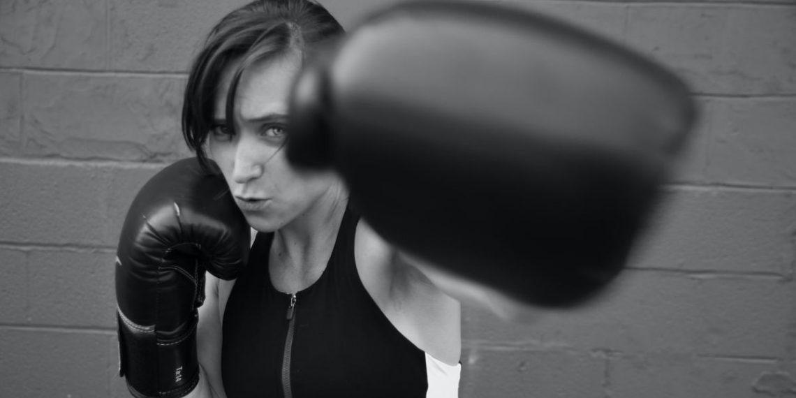 Boxeadora de lucha libre