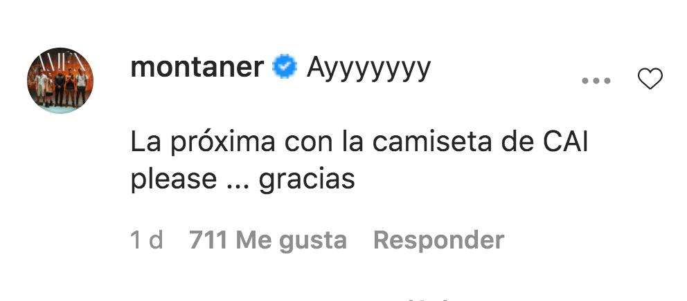 Comentario de Ricardo Montaner a foto de Evaluna