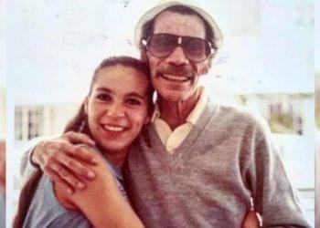 Ramón Valdés y su hija Carmen