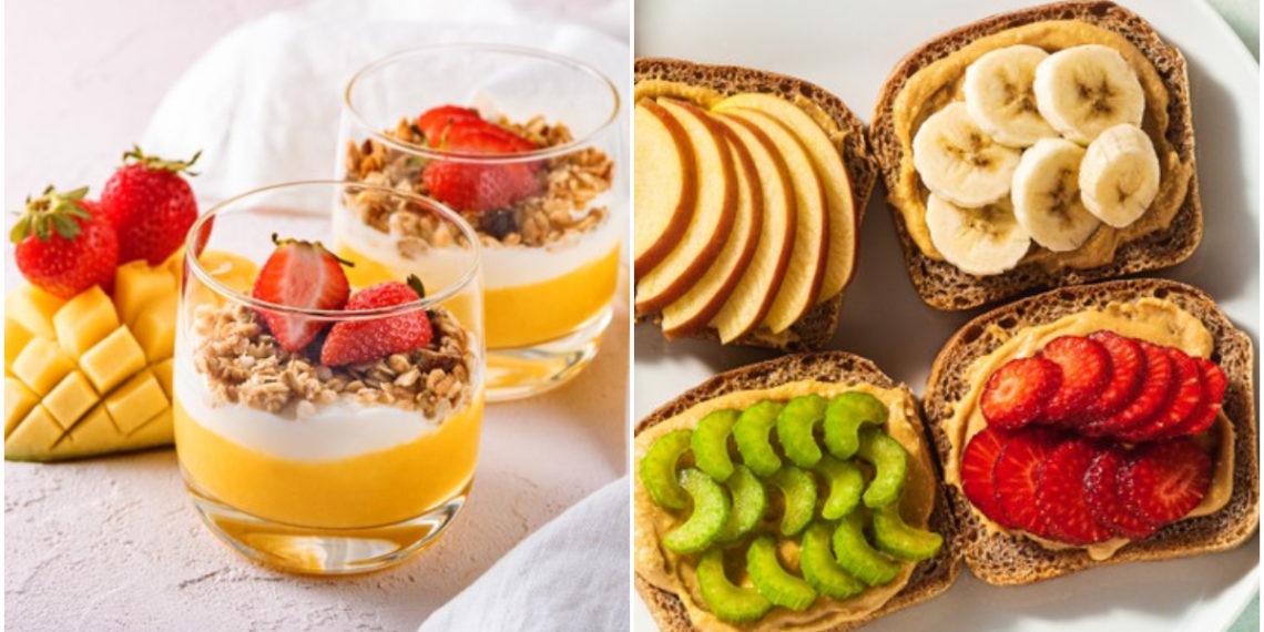 romper la dieta / snacks saludables