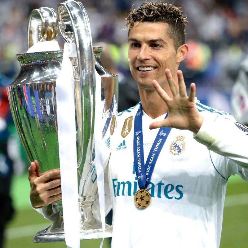 Goles de Messi y Cristiano Ronaldo en fases finales de Champions