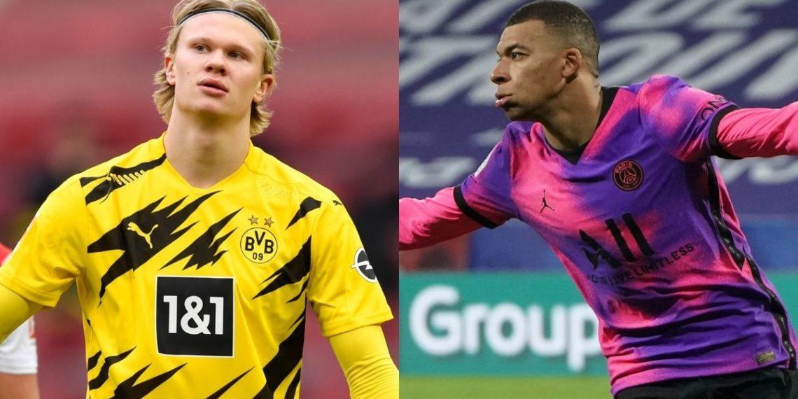 ¿Haaland o Mbappé? Grandes futbolistas escogen a su joven favorito