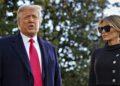 Trump y Melania se vacunaron contra el COVID-19