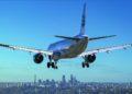 hombre apunta un rayo láser a los aviones en Miami